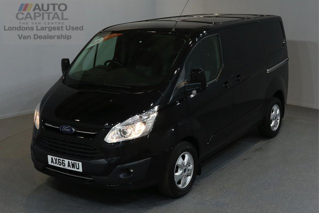2016 66 FORD TRANSIT CUSTOM 2.0 270 LIMITED 129 BHP L1 H1 SWB LOW ROOF A/C E6 ONE OWNER FROM NEW