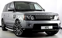 USED 2013 13 LAND ROVER RANGE ROVER SPORT 3.0 SD V6 HSE Black Edition 4X4 (s/s) 5dr Auto [8] Dual View TV, Extended Leather