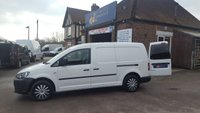 2013 VOLKSWAGEN CADDY MAXI 1.6 TDI DIRECT FROM LANARKSHIRE COUNCIL WITH BLUETOOTH £6295.00