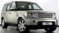 USED 2010 59 LAND ROVER DISCOVERY 4 3.0 TD V6 XS 4X4 5dr Auto Reverse Cam, Sat Nav, Leather