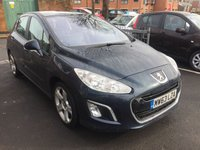 2013 PEUGEOT 308 1.6 E-HDI ALLURE NAVIGATION VERSION 5d 115 BHP £6995.00