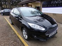 USED 2015 65 FORD FIESTA 1.2 ZETEC 3d 81 BHP # 1 OWNER FROM NEW # DAB RADIO # BLUETOOTH # £0 DEPOSIT FINANCE AVAILABLE #