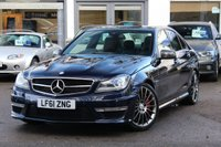 2012 MERCEDES-BENZ C CLASS C63 AMG PERFORMANCE PACKAGE PLUS 6.3 4d AUTO 457 BHP £31990.00