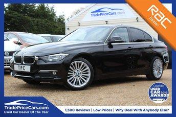 2013 BMW 3 SERIES 2.0 320D LUXURY 4d AUTO 184 BHP £13950.00