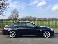 2013 BMW 5 SERIES 2.0 520D M SPORT 4d AUTO 181 BHP £14995.00