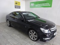 USED 2012 61 MERCEDES-BENZ C CLASS 2.1 C220 CDI BLUEEFFICIENCY AMG SPORT 2d AUTO 170 BHP