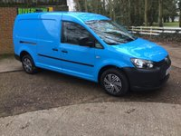 2013 VOLKSWAGEN CADDY MAXI 1.6 C20 TDI 1d 101 BHP RECENT MAIN DEALER SERVICE MOT £7795.00