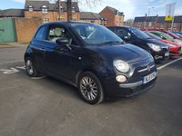 USED 2015 15 FIAT 500 1.2 LOUNGE CHEAP TO RUN AND VERY ECONOMICAL WITH £30 ROAD TAX AND OVER 50 MILES TO THE GALLON COMBINED. ALSO EXCELLENT SPECIFICATION WITH A PANORAMIC ROOF , ALLOY WHEELS , AND UPGRADED TRIM!