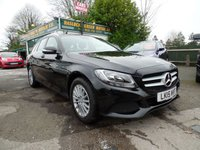 2015 MERCEDES-BENZ C CLASS 2.1 C220 BLUETEC SE EXECUTIVE 5d AUTO 170 BHP £17999.00