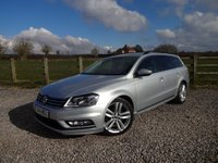USED 2014 14 VOLKSWAGEN PASSAT 2.0 R LINE TDI BLUEMOTION TECHNOLOGY 5d 140 BHP FULL VW MAIN DEALER SERVICE HISTORY
