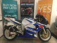 2001 SUZUKI GSXR600 599cc GSXR 600 K1  £2490.00