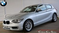 USED 2015 15 BMW 1 SERIES 116i SE 3 DOOR AUTO 135 BHP Finance? No deposit required and decision in minutes.