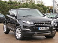 USED 2015 64 LAND ROVER RANGE ROVER EVOQUE 2.2 ED4 PURE TECH 3d 150 BHP SATELLITE NAVIGATION, HEATED SEATS & LEATHER