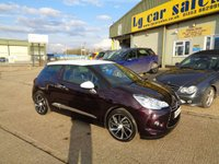 2015 CITROEN DS3 1.6 DSTYLE PLUS 3d AUTO 120 BHP £8795.00