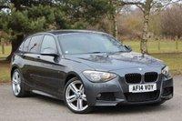 2014 BMW 1 SERIES 2.0 125D M SPORT 5d AUTO 215 BHP £15480.00