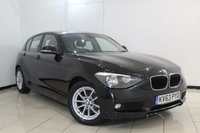 USED 2013 63 BMW 1 SERIES 1.6 116D EFFICIENTDYNAMICS 5DR 114 BHP SERVICE HISTORY + BLUETOOTH + CRUISE CONTROL + MULTI FUNCTION WHEEL + AIR CONDITIONING + AUXILIARY PORT + 16 INCH ALLOY WHEELS
