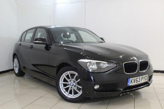 View our 2013 63 BMW 1 SERIES 1.6 116D EFFICIENTDYNAMICS 5DR 114 BHP