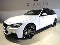 2016 BMW 3 SERIES 3.0 335D XDRIVE M SPORT TOURING 5d AUTO 308 BHP £24990.00