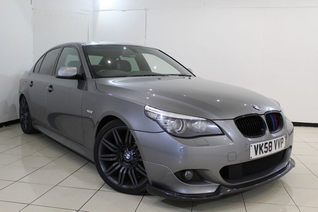 View our 2008 58 BMW 5 SERIES 3.0 530D M SPORT 4DR AUTOMATIC 232 BHP