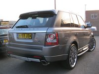 USED 2009 59 LAND ROVER RANGE ROVER SPORT 3.0 TDV6 HSE Auto,OVERFINCH Styling,huge spec!!!