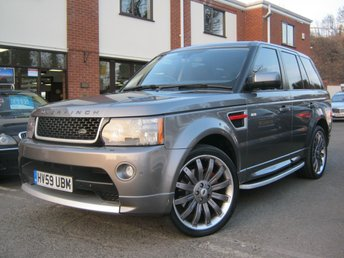 2009 LAND ROVER RANGE ROVER SPORT 3.0 TDV6 HSE Auto,OVERFINCH Styling,huge spec!!! £18495.00