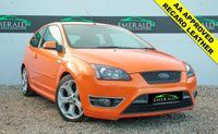 USED 2007 07 FORD FOCUS 2.5 ST-3 3d 225 BHP £0 DEPOSIT FINANCE AVAILABLE, FULL RECARO LEATHER, AUX INPUT, HEATED SEATS, CLIMATE CONTROL, CD PLAYER