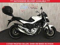 2012 SUZUKI GLADIUS 650 SFV650 SFV 650 GLADIUS 650 AL2 ABS MODEL TOP BOX 2012 62 £2890.00