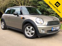 USED 2009 58 MINI HATCH ONE 1.4 ONE 3d 94 BHP