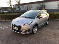 2016 PEUGEOT 5008 1.6 BLUE HDI S/S ALLURE 5d AUTO 120 BHP £SOLD