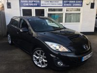 USED 2010 60 MAZDA 3 2.3 MPS 5d 260 BHP EXTREMELY LOW MILEAGE 21K FSH RARE MODEL EXCELLENT CONDITION