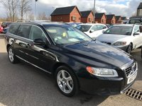 USED 2012 12 VOLVO V70 2.4 D5 SE LUX 5d AUTO 212 BHP Family pack (rear booster seats), Full service history,  Full leather upholstery,  Electric/Memory driver's seat,  Bluetooth, Satellite Navigation,   Heated front seats,   Electric sunroof,   Remotely operated tailgate,   Front and rear parking sensors