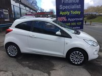 USED 2013 13 FORD KA 1.2 ZETEC 3d 69 BHP, only 31000 miles ***GREAT FINANCE DEALS AVAILABLE***
