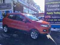 USED 2014 64 FORD ECOSPORT 1.5 TITANIUM TDCI 5d 88 BHP, only 35000 miles ***GREAT FINANCE DEALS AVAILABLE***