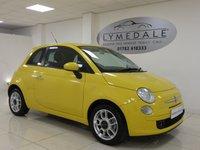 2010 FIAT 500 1.2 SPORT 3d 69 BHP £4690.00