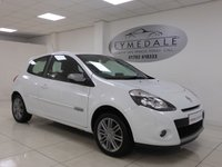 USED 2012 62 RENAULT CLIO 1.1 DYNAMIQUE TOMTOM 16V 3d 75 BHP FABULOUS - SAT NAV 1/2 LEATHER