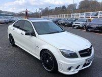 2010 MERCEDES-BENZ C CLASS 6.2 C63 AMG 4d 451 BHP £24750.00