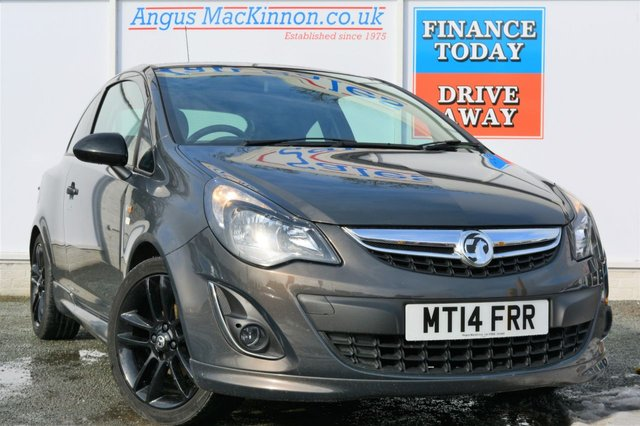 2014 14 VAUXHALL CORSA 1.2 LIMITED EDITION 3d Sporty Hatchback