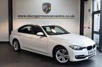USED 2015 64 BMW 3 SERIES 2.0 320I SPORT 4DR AUTO 181 BHP + SATELLITE NAVIGATION + BLUETOOTH + SPORT SEATS + DAB RADIO + RAIN SENSORS + AUTO AIR CONDITIONING + CRUISE CONTROL + LIGHT PACKAGE + PARKING SENSORS + 17 INCH ALLOY WHEELS +