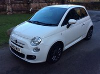 USED 2013 63 FIAT 500 1.2 S 3d 69 BHP **ZERO DEPOSIT FINANCE AVAILABLE** PART EXCHANGE WELCOME