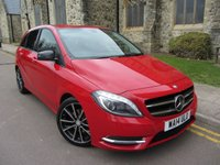 2014 MERCEDES-BENZ B CLASS 1.8 B200 CDI BLUEEFFICIENCY SPORT 5d AUTO 136 BHP £13995.00