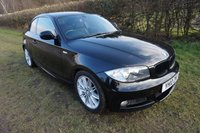 "USED 2010 10 BMW 1 SERIES 2.0 118D M SPORT 2d 141 BHP,HALF LEATHER,17""ALLOYS,REAR PARK,FULL SERVICE HISTORY"