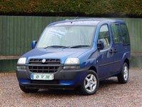 2003 FIAT DOBLO 1.9 JTD ELX 5d 100 BHP £2470.00