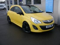 2012 VAUXHALL CORSA 1.2 LIMITED EDITION 3d 83 BHP £5980.00