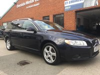USED 2012 12 VOLVO V70 2.4 D5 SE LUX 5d AUTO 212 BHP Full service history,    Full leather upholstery,    Heated front seats,    Satellite Navigation,   Family pack (rear booster seats),       Electric/Memory driver's seat,       Bluetooth,       Remotely operated tailgate,      Rear parking sensors