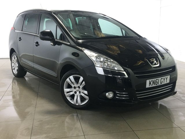 View our 2011 61 PEUGEOT 5008 2.0 HDI EXCLUSIVE 5d AUTO 163 BHP