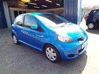 USED 2010 10 TOYOTA AYGO 1.0 BLUE VVT-I 5d 67 BHP FULL SERVICE HISTORY