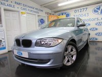 2008 BMW 1 SERIES 2.0 118D SE 5d 141 BHP £5295.00
