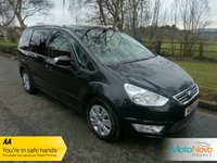 USED 2015 15 FORD GALAXY 2.0 ZETEC TDCI 5d AUTO 138 BHP Fantastic Value Automatic Ford Galaxy in Black with Seven Seats, Air Conditioning and Service History