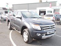 USED 2015 64 FORD RANGER 3.2 LIMITED 4X4 DCB TDCI 4d 197 BHP