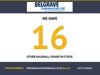 USED 2014 64 VAUXHALL VIVARO 1.6 2900 L2H1 CDTI P/V 1d 114 BHP